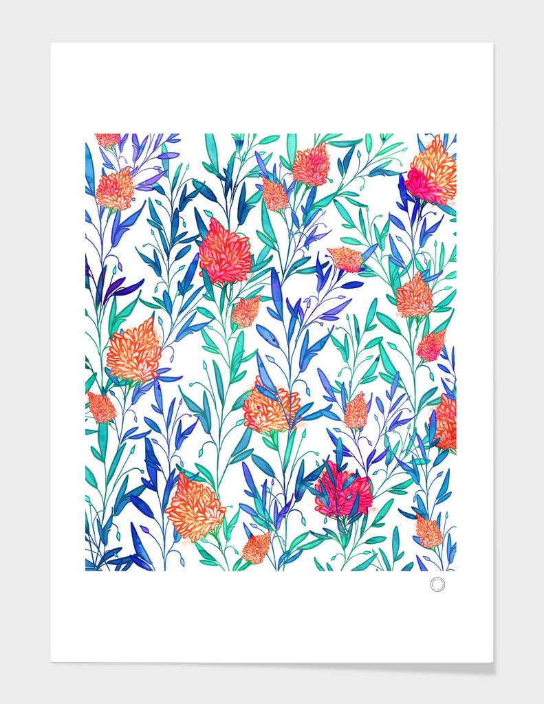 Vibrant Floral