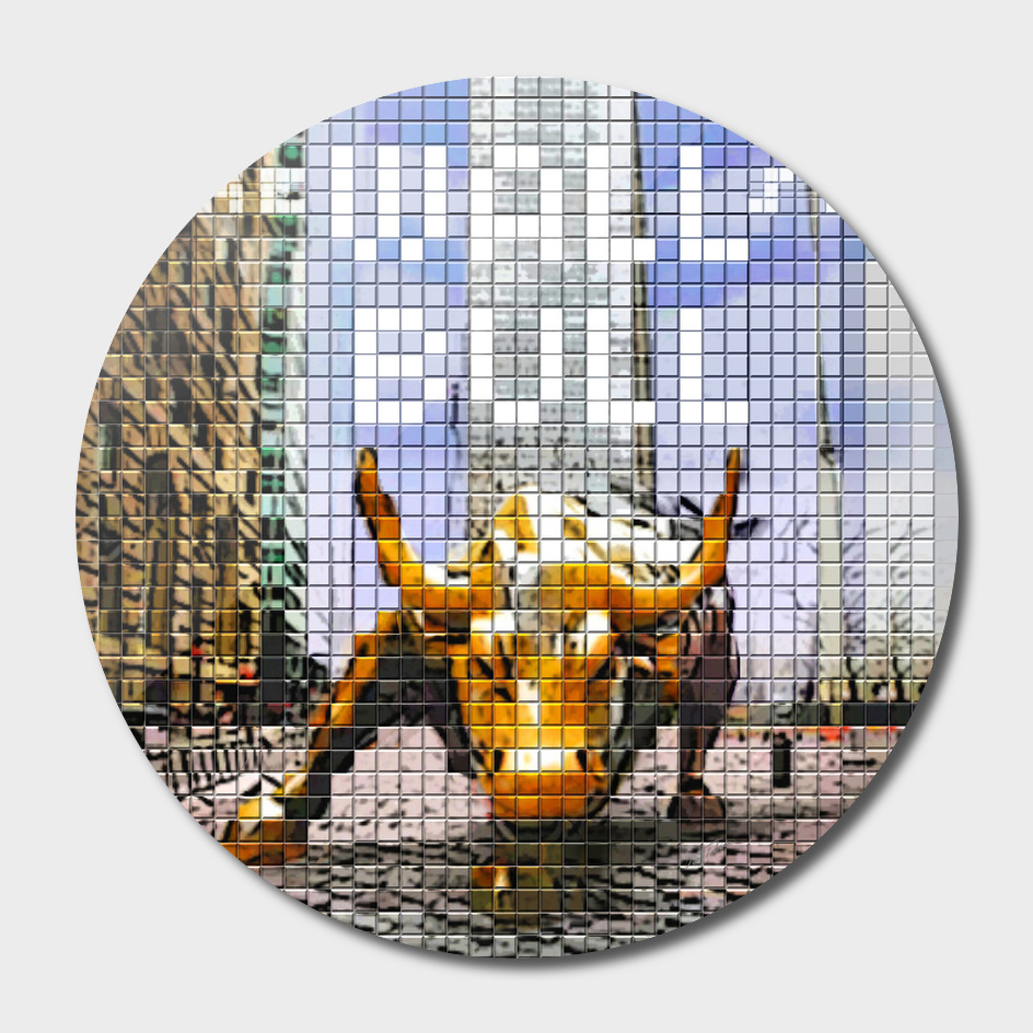 'the Wall st. Bull'