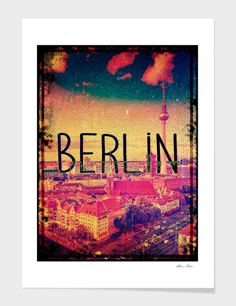 Berlin, vintage poster