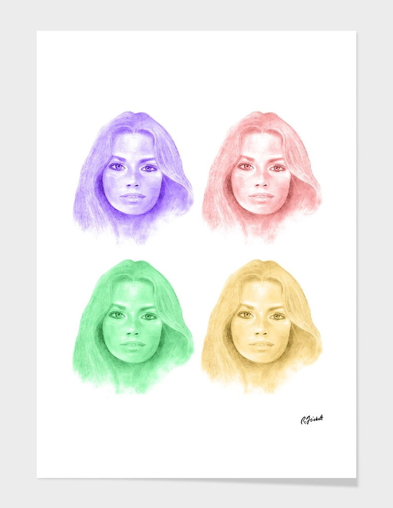 Jennifer in Four Colors