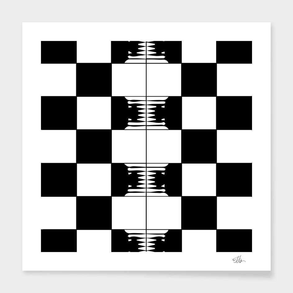 Checkerboard mitosis