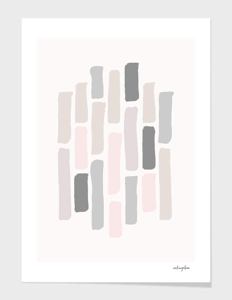 Soft Pastels Composition 1