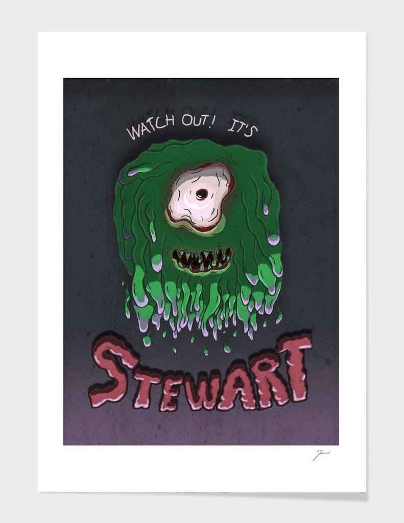 Beware Stewart!