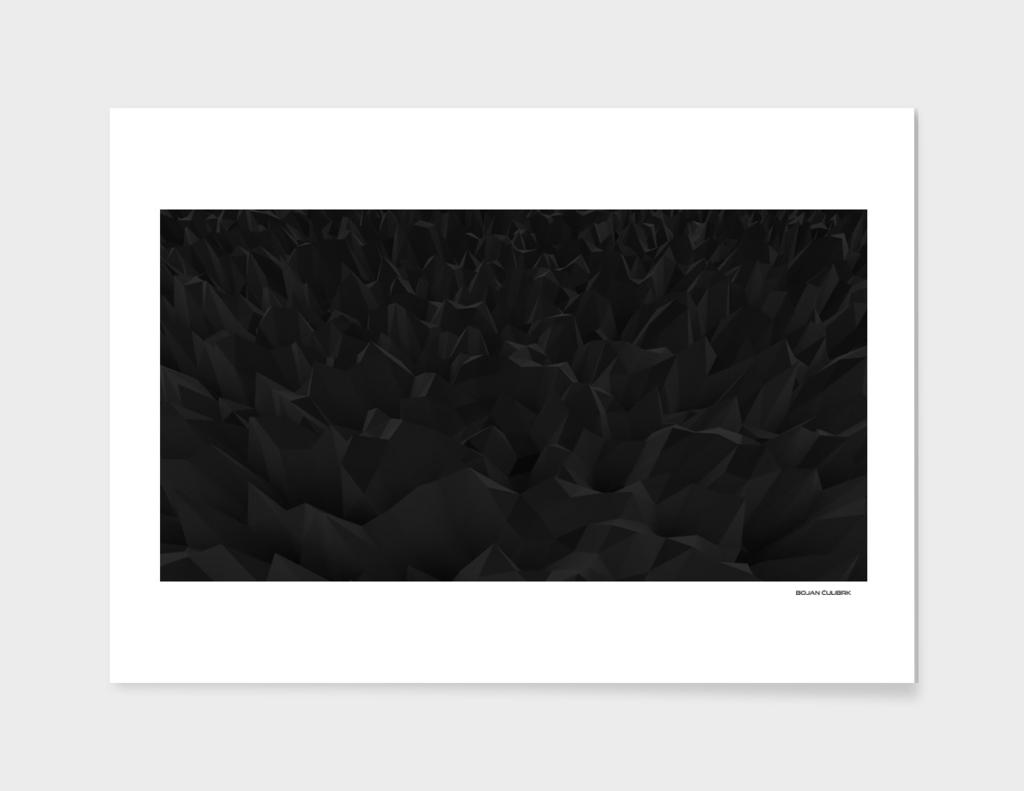 Crystal Formation Black