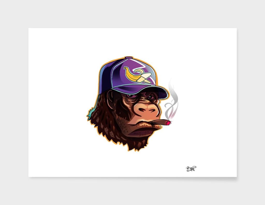 Gorilla smoke