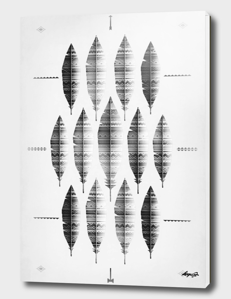 native bling monochrome