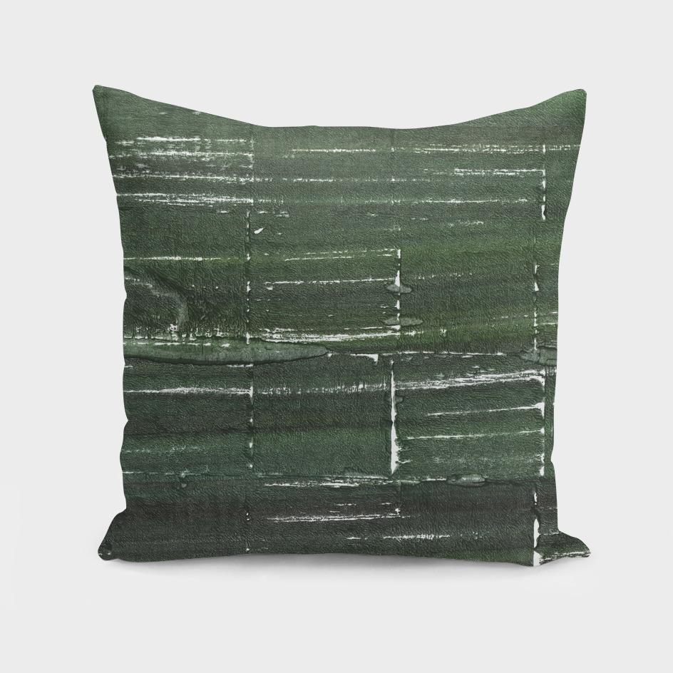 Kombu green abstract watercolor