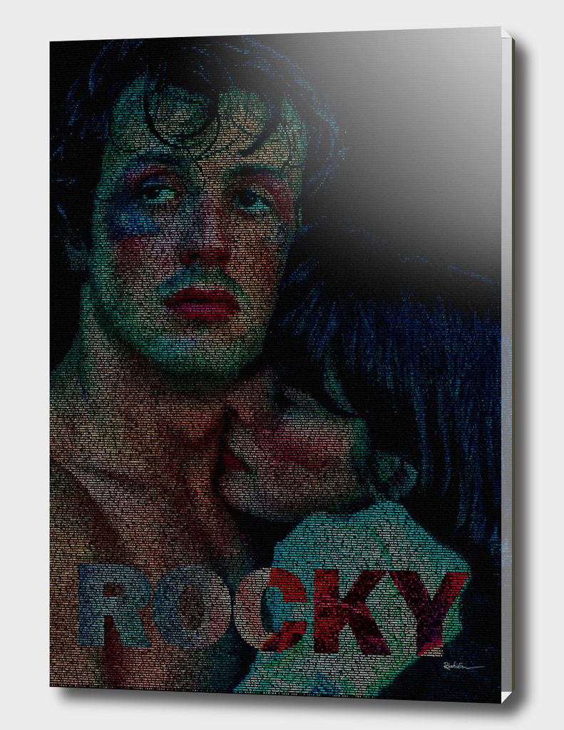 Rocky : Screenplay Print
