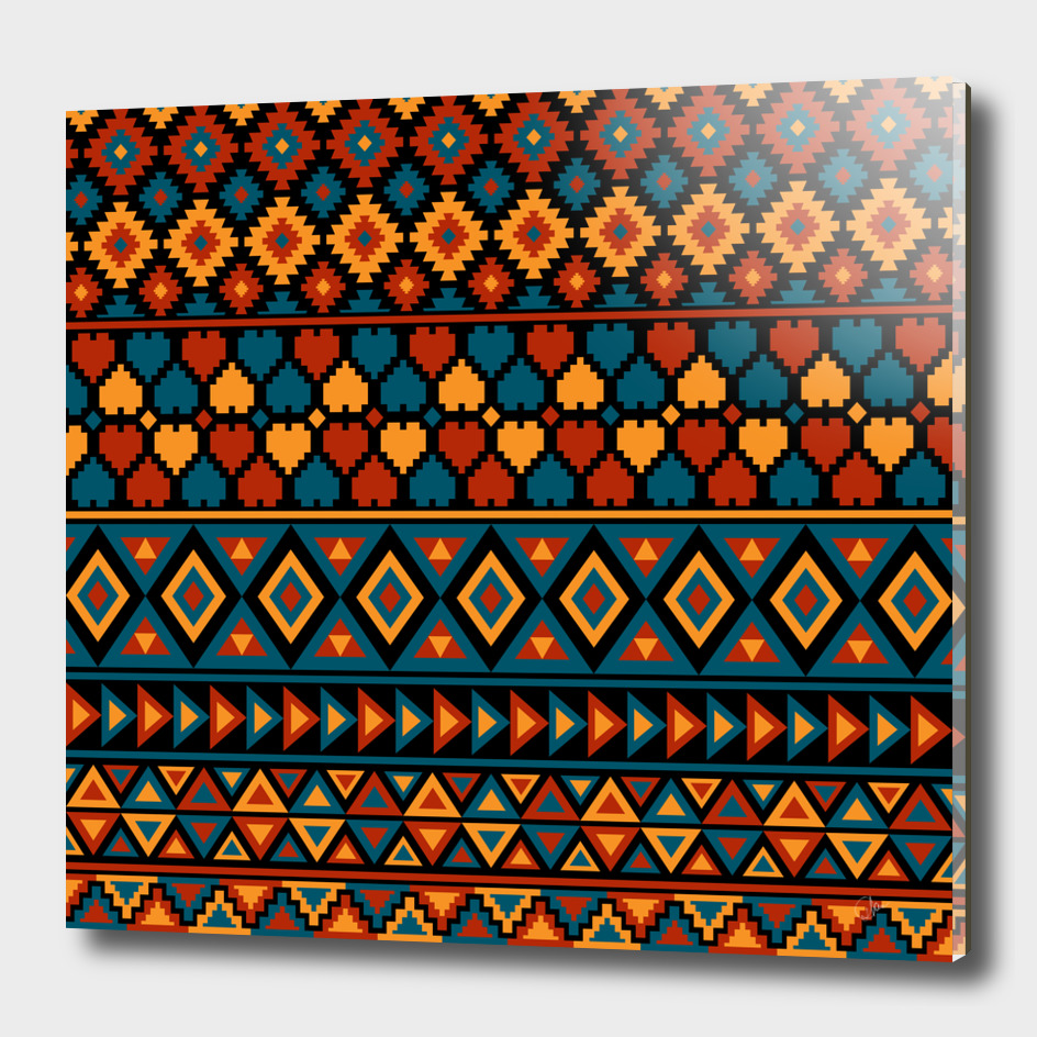 Ethnic traditional pattern