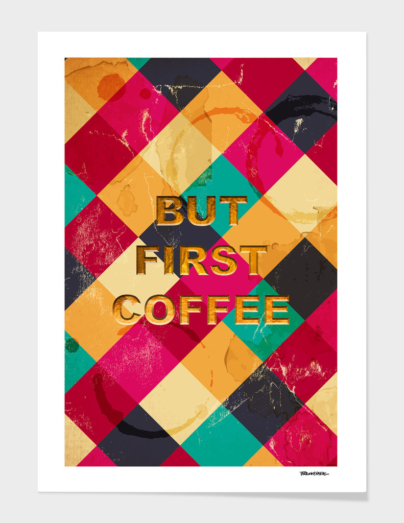 But first Coffee - Notebooks & more