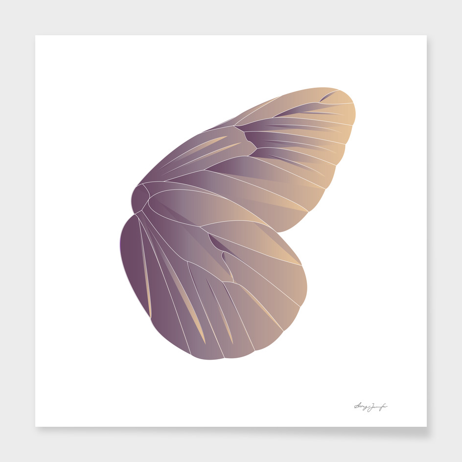 Geometric Butterfly Wing