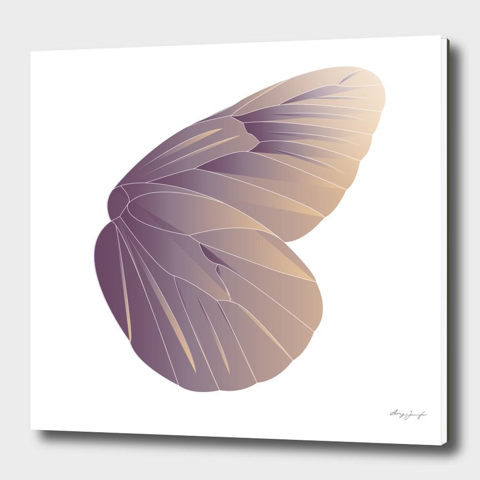 Geometric Butterfly Wing