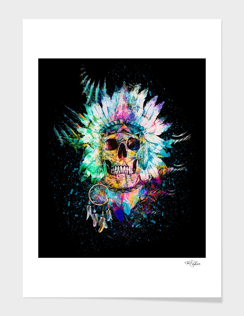 Skull Wild Spirit