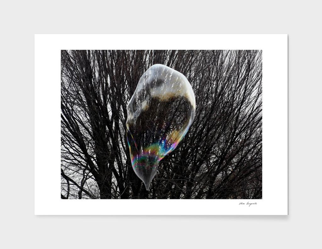 A drop of soapbubble