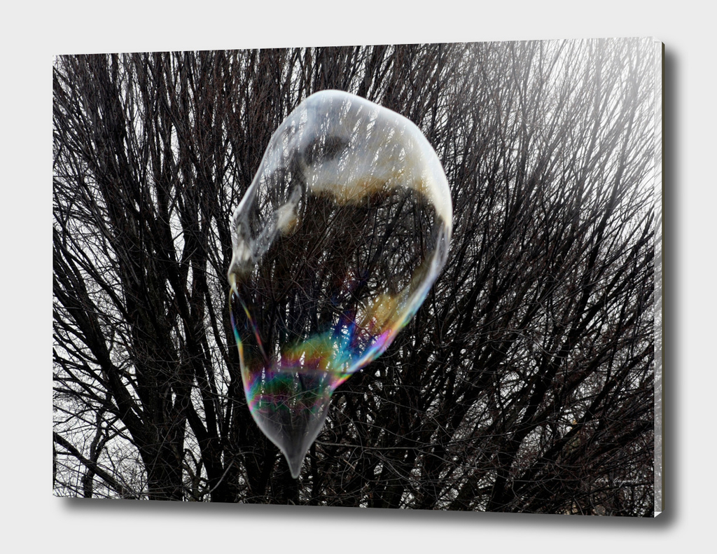 A drop of soapbubble