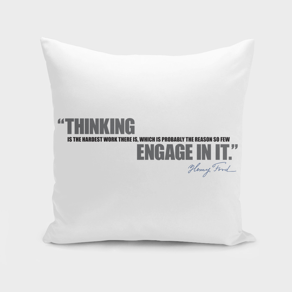Henry Ford - Thinking