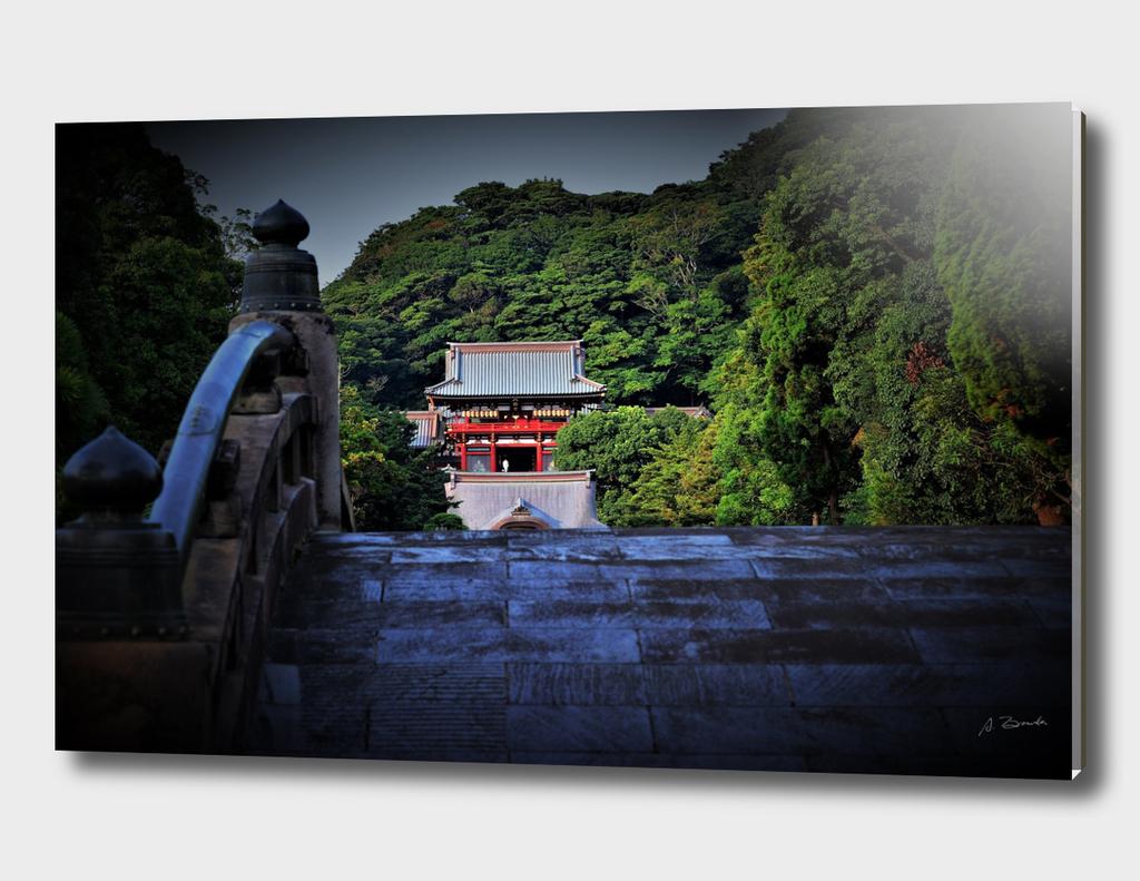Kamakura: Tsurugaoka-Hachimangu-Shrine, Japan