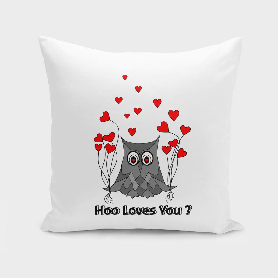 Valentines Day Owl