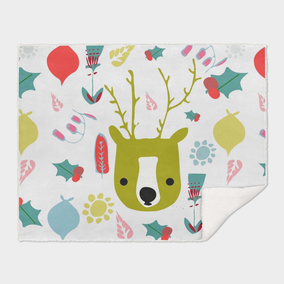 Cute holiday Reindeer