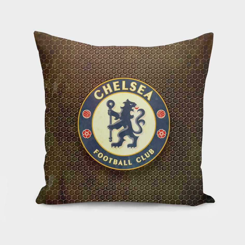 FC Chelsea metal background