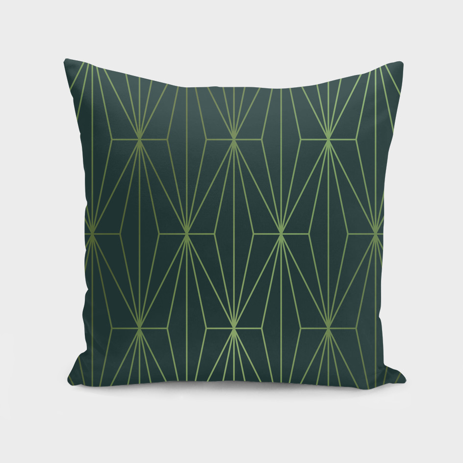 ELEGANT GREEN GABLES PATTERN