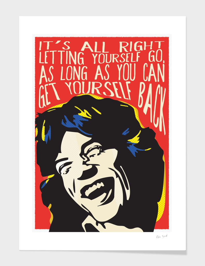 Mick Jagger Pop Art