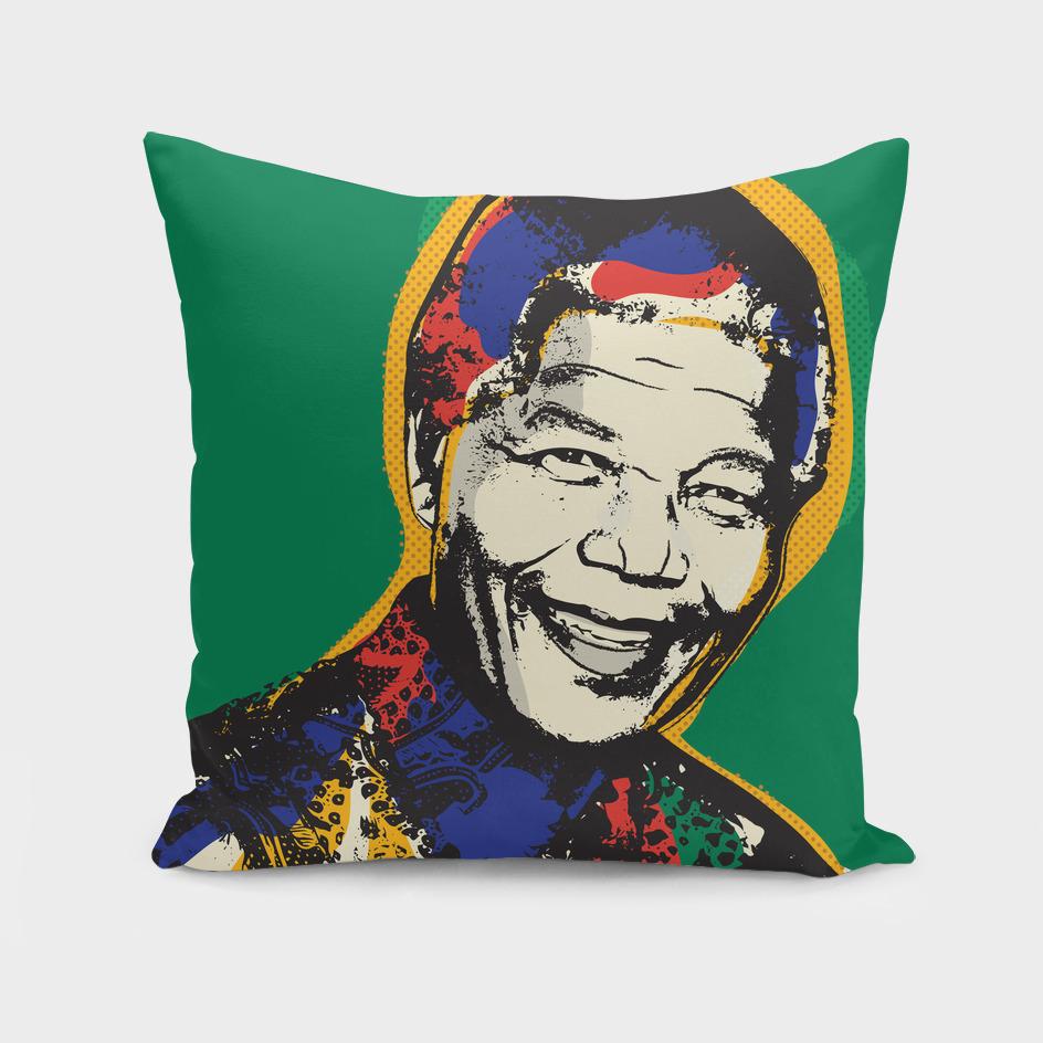 Nelson Mandela pop art quote