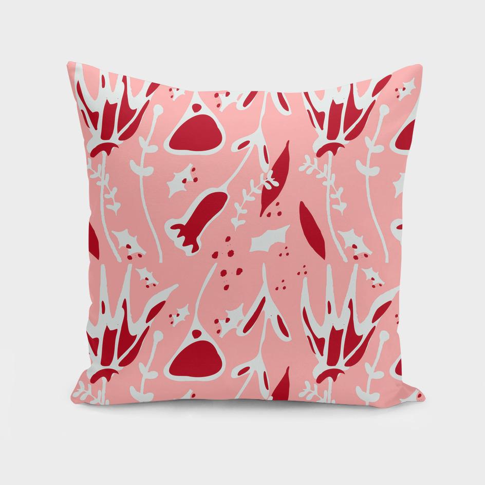Winter Floral pink #floral