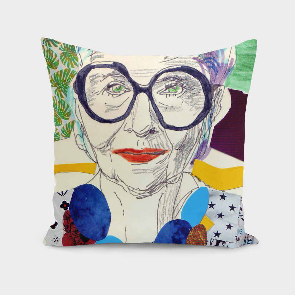 Iris Apfel fan art