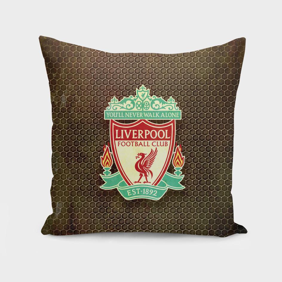 FC Liverpool metal background
