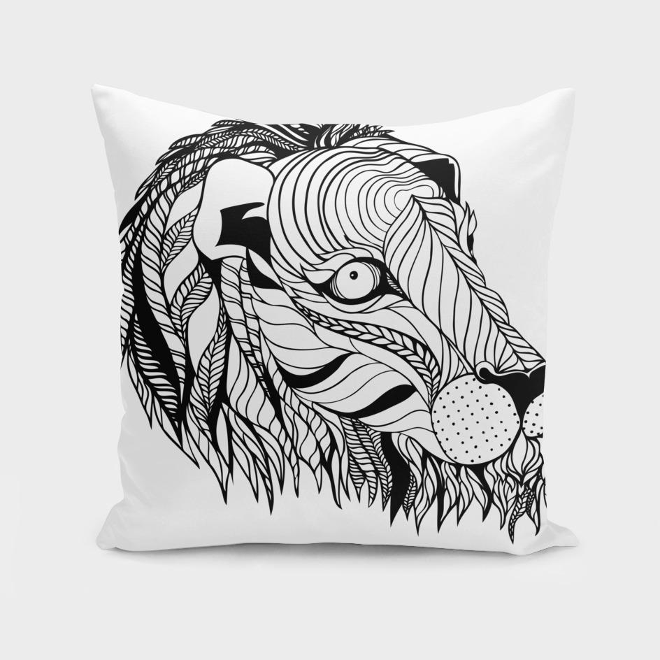 Pattern lion
