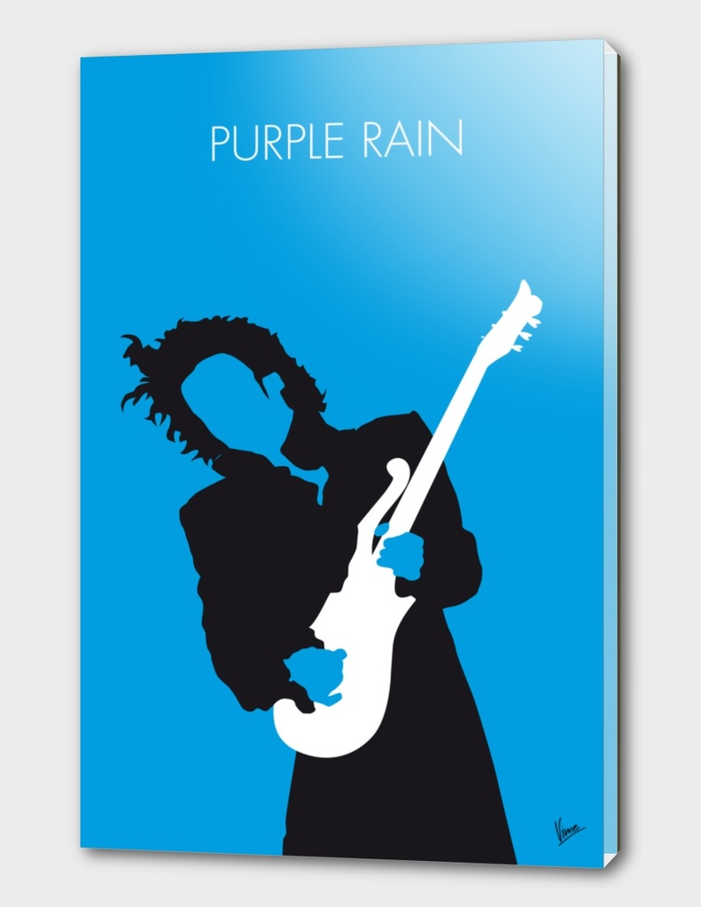 No009 MY PRINCE Minimal Music poster