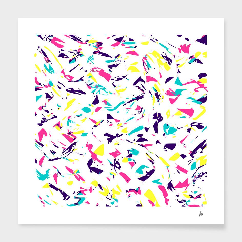 Colorful Madness Pattern Light