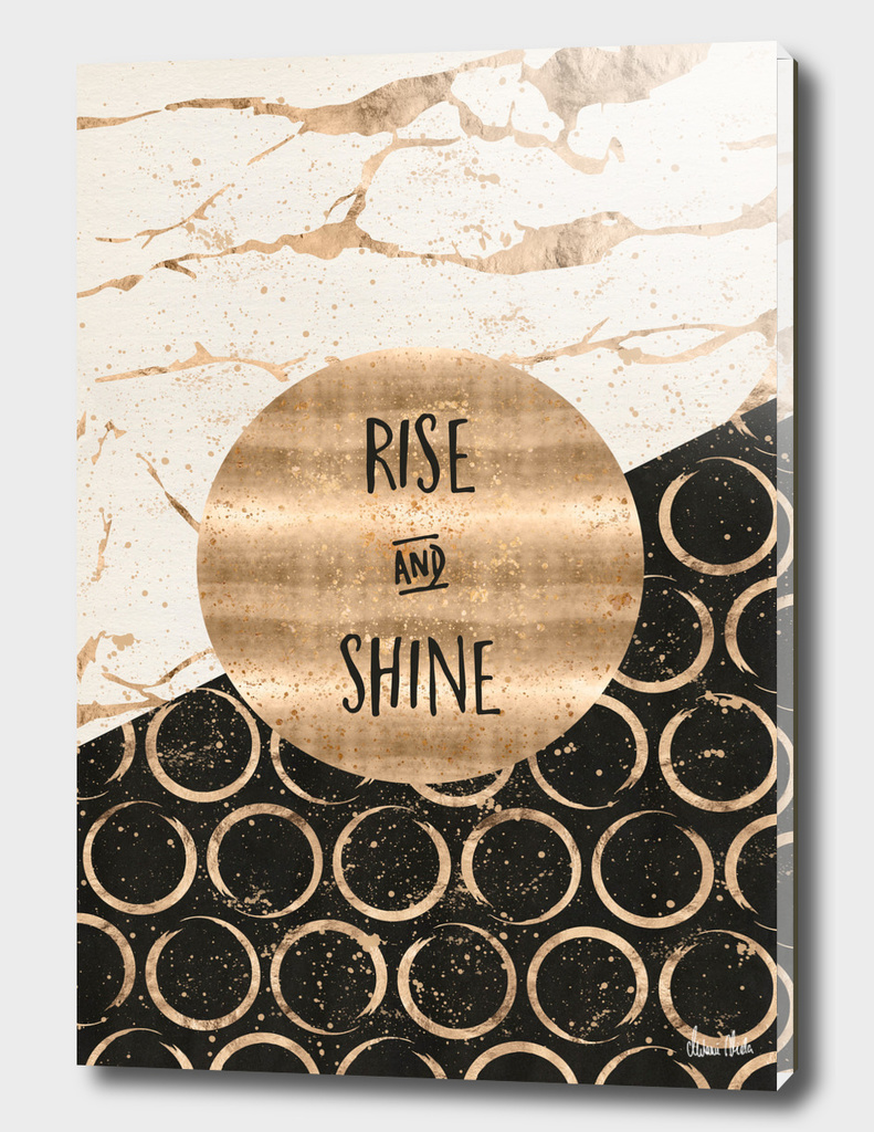 GRAPHIC ART Rise and shine