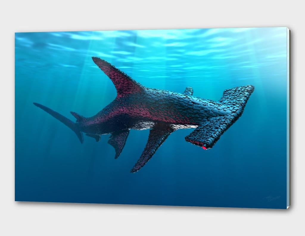 Artificial life 1.0 Oceans -  Hammerhead Shark