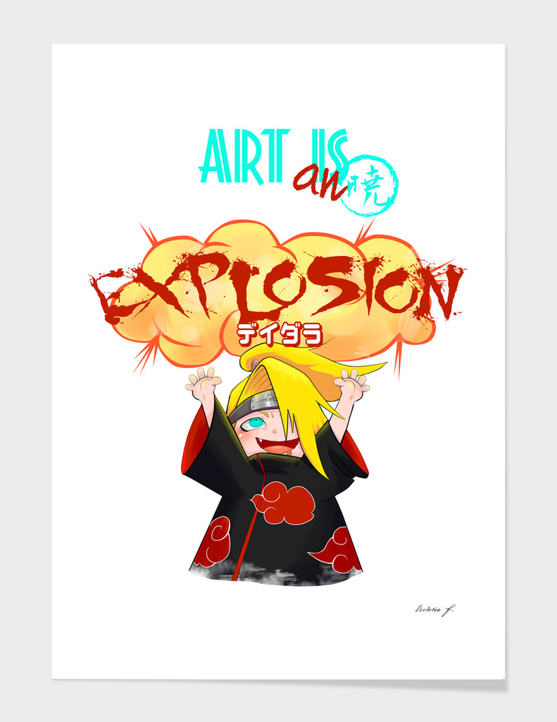 Art is an EXPLOSION