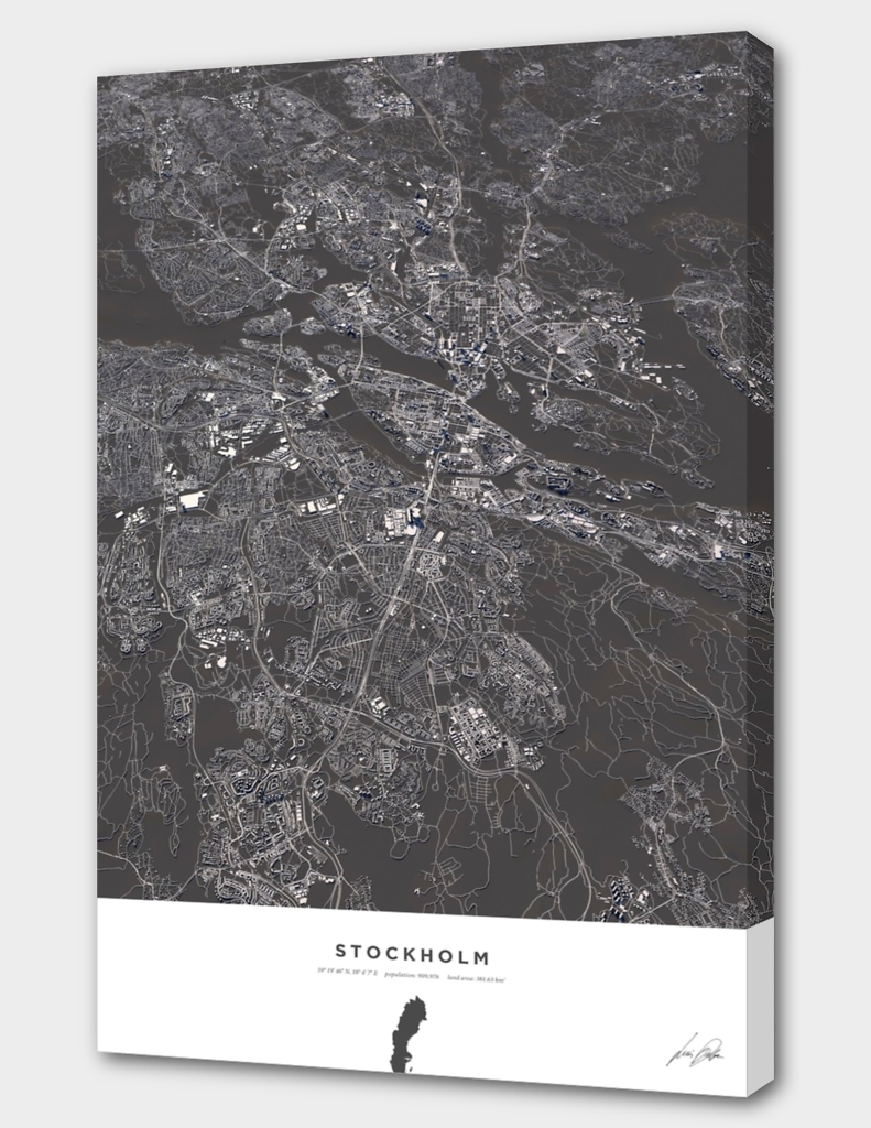 Stockholm City Map