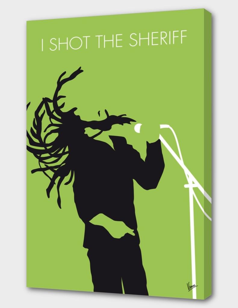 No016 MY Bob Marley Minimal Music poster-curioos