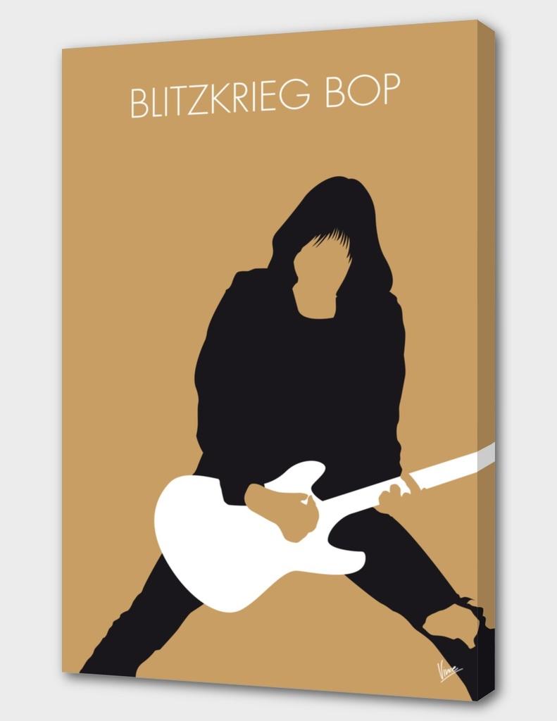 No020 MY RAMONES Minimal Music poster-curioos