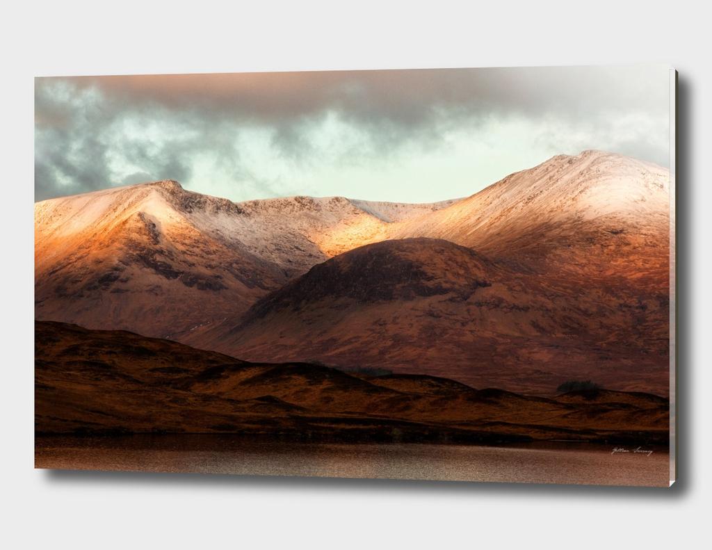 Sunrise on Rannoch Moor