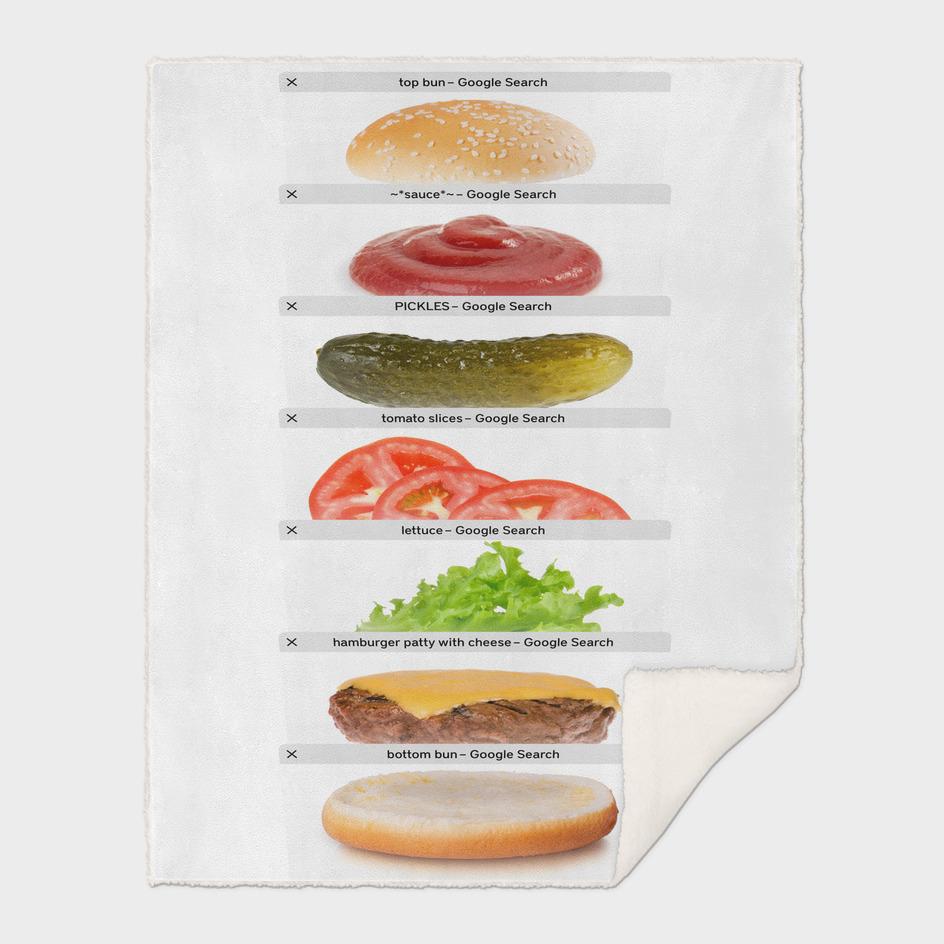 Safari Tabs Cheeseburger