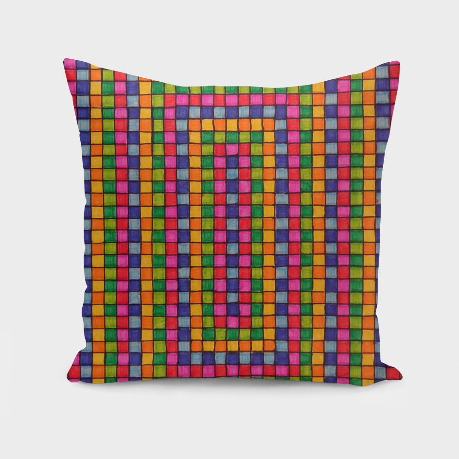Colorful Square Pattern