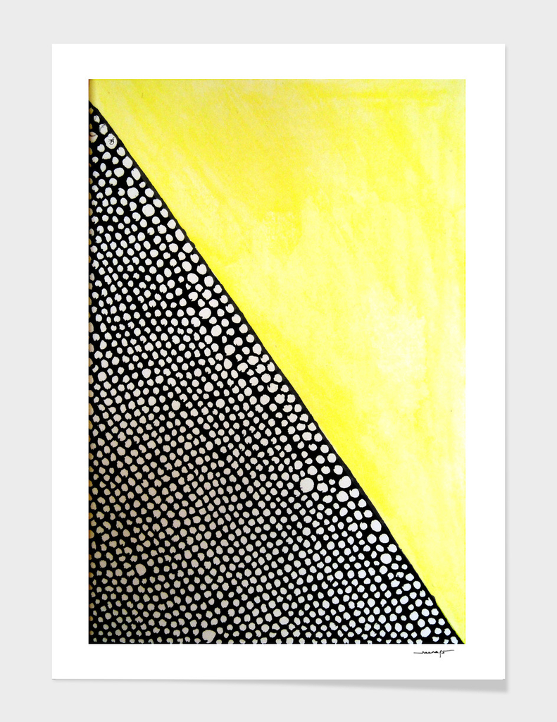 Diagonal Yellow