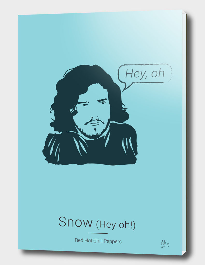 Snow (Hey oh!)