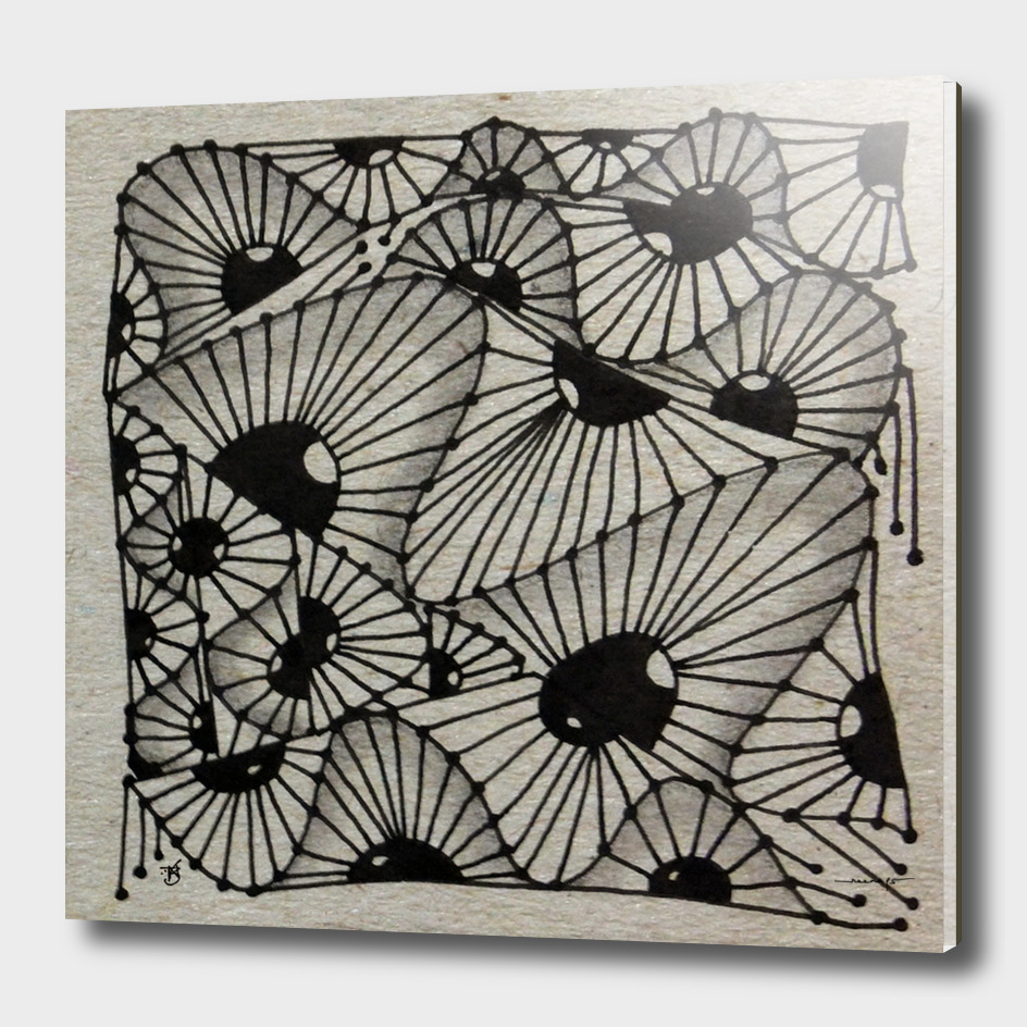 Zentangle tile no.5