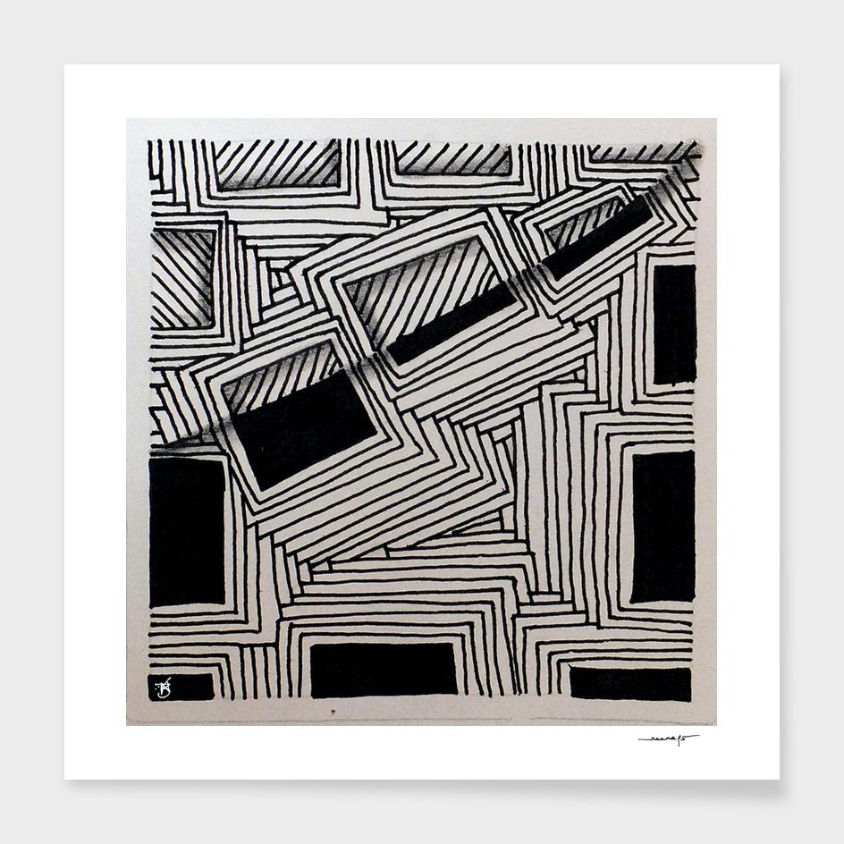Zentangle Tile No. 7
