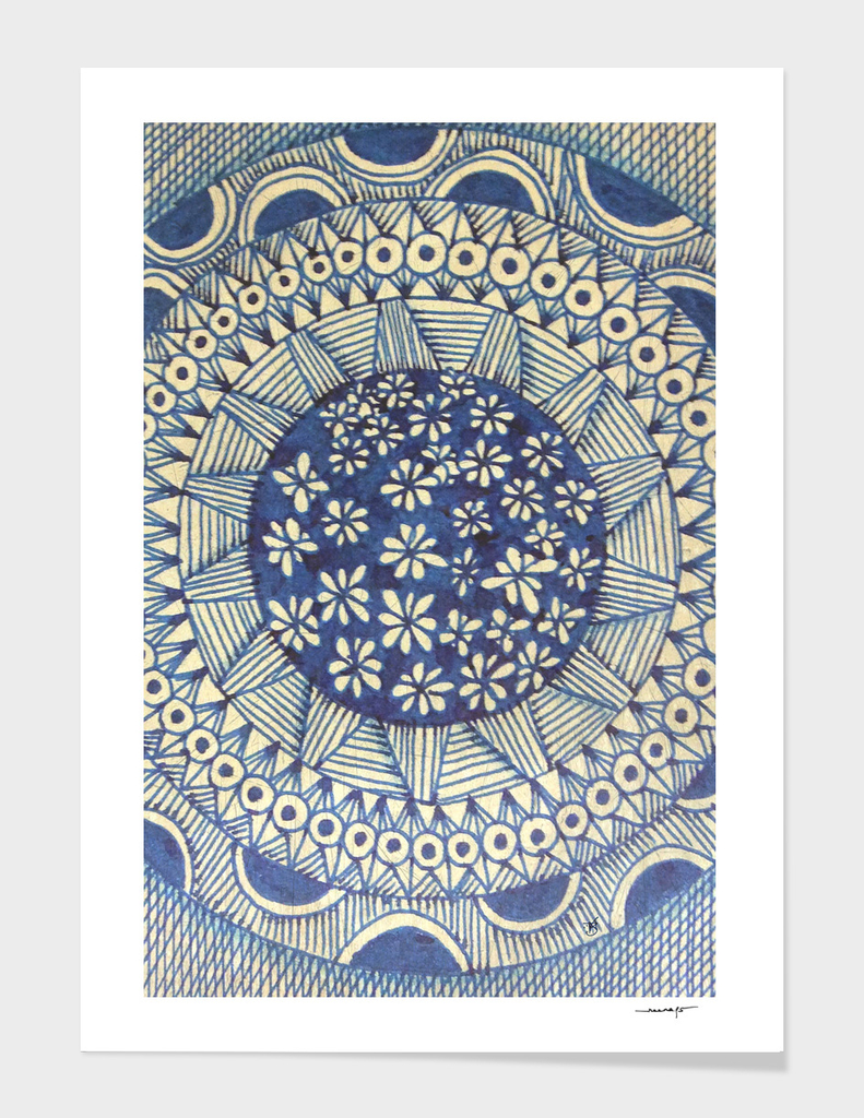 Blue Color Magic 2
