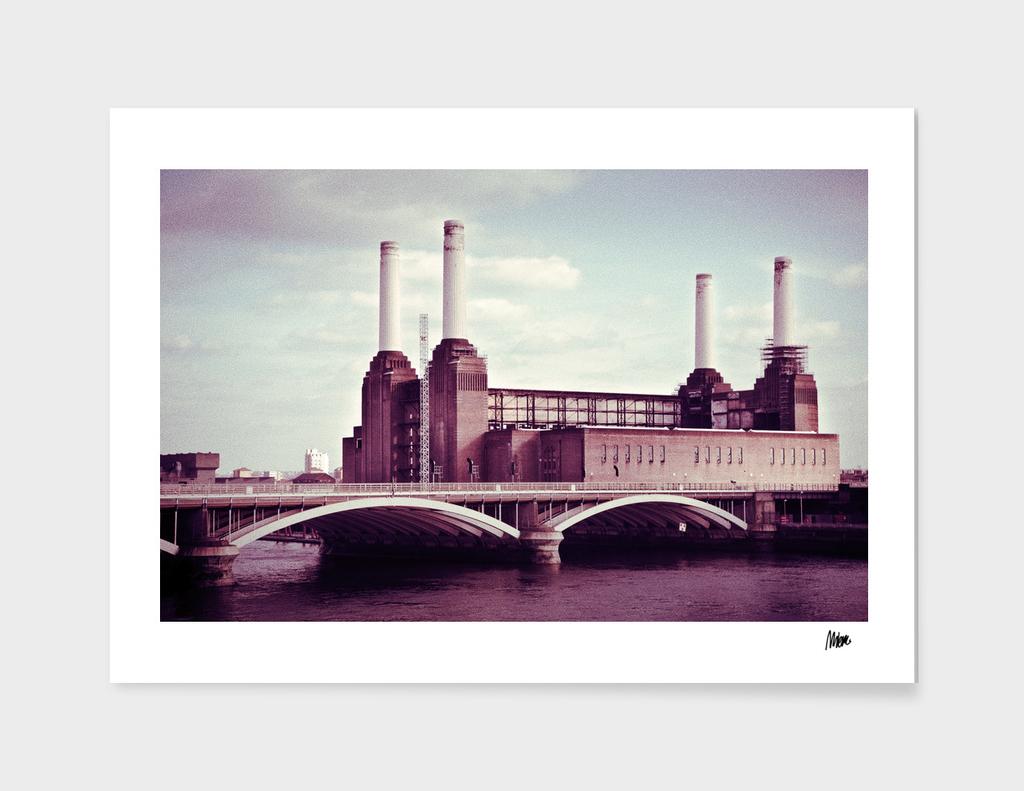 Battersea Park power plant