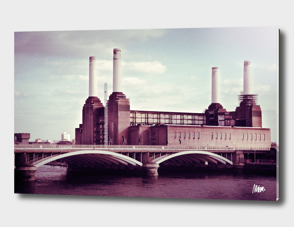 Battersea Park power plant