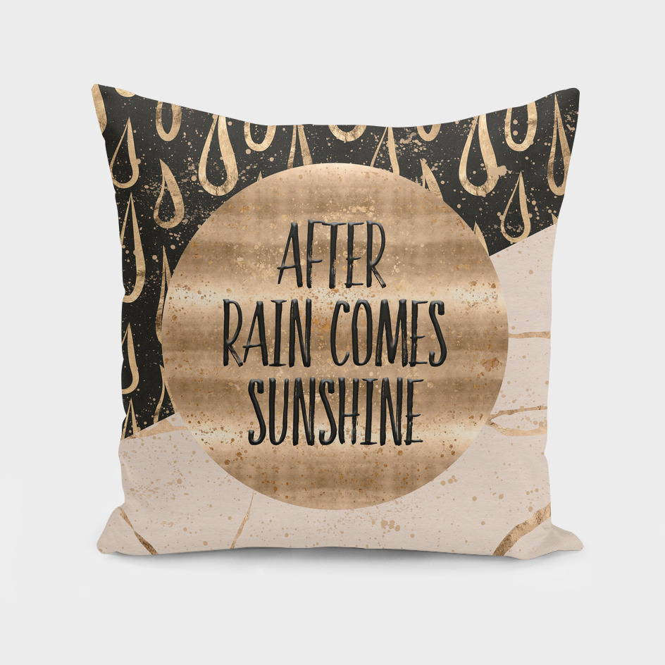 GRAPHIC ART After rain comes sunshine